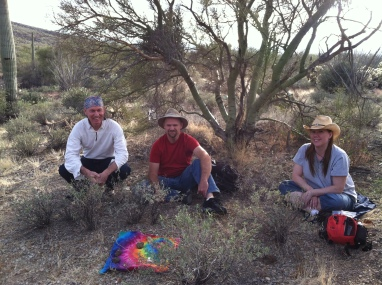 Shamanic journey in the Sonoran desert