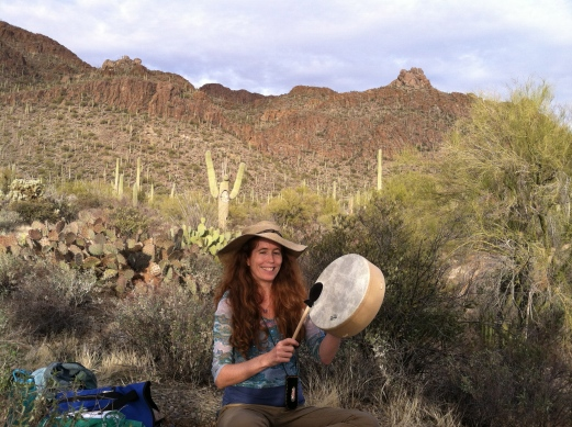 Drum journey in the Sonoran desert