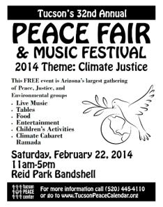 peace fair flyer