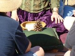 peace fair pinecone