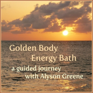 Golden Sunset Energy Bath